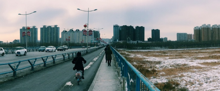 Crossing the Ling He in Jinzhou