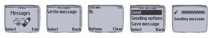 Old SMS UI